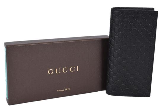 Preload https://item3.tradesy.com/images/gucci-black-men-s-leather-micro-gg-guccissima-long-chest-pocket-wallet-21557277-0-2.jpg?width=440&height=440