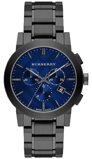 Preload https://item3.tradesy.com/images/burberry-gray-ion-blue-men-s-swiss-chronograph-ion-plated-bu9365-watch-21557297-0-2.jpg?width=440&height=440