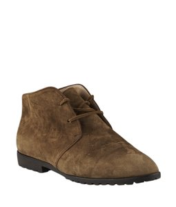 Gucci Ankle Suede Brown Boots