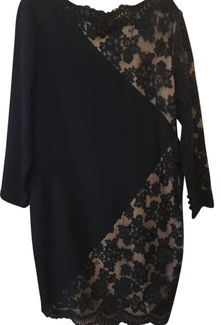 Preload https://item1.tradesy.com/images/bill-blass-black-collection-mid-length-night-out-dress-size-12-l-21557525-0-2.jpg?width=400&height=650