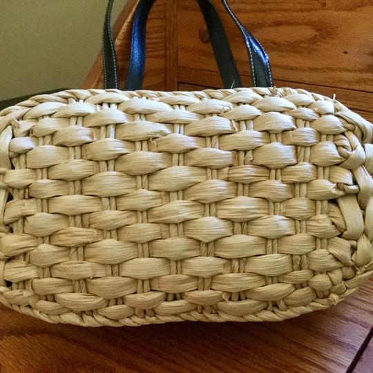 Brighton Tote in straw