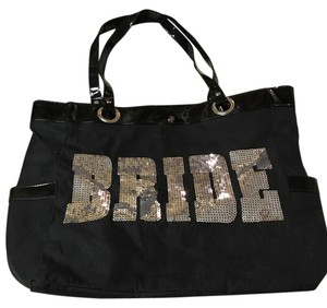 Other Tote in black & Silver