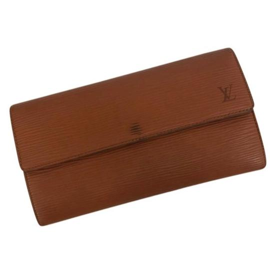 Louis Vuitton Epi Sarah Long Wallet: Kenyan Fawn