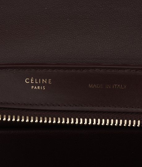 Céline Leather Tote in Multi-Color