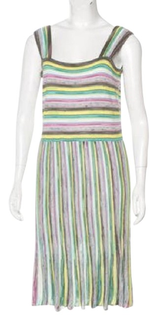 Preload https://item5.tradesy.com/images/m-missoni-yellow-multi-stripe-knit-sleeveless-cocktail-dress-size-10-m-21557744-0-1.jpg?width=400&height=650