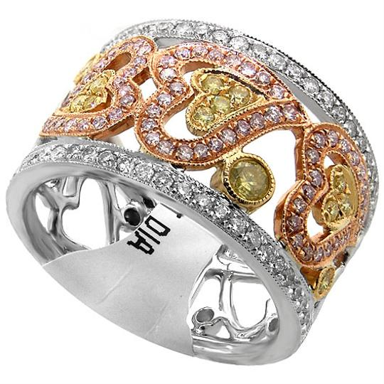 Preload https://img-static.tradesy.com/item/21557749/abc-jewelry-yellow-pink-and-white-diamonds-86ct-of-and-in-18kt-gold-ring-0-0-540-540.jpg