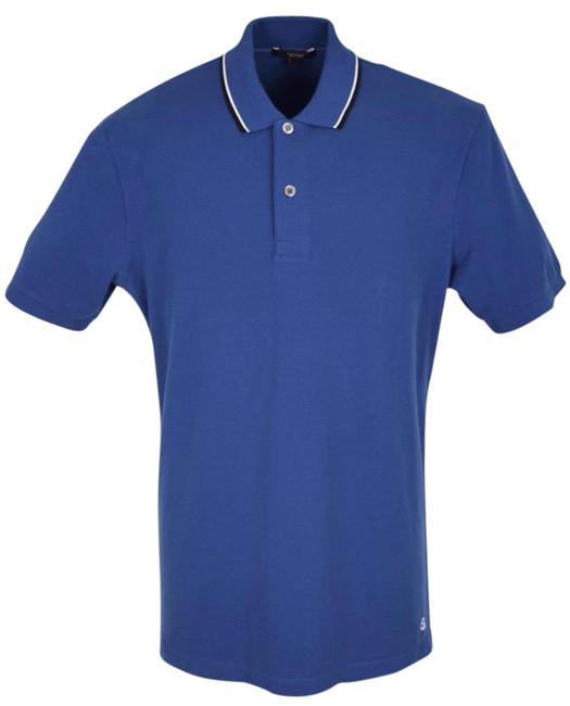 Preload https://item1.tradesy.com/images/gucci-blue-new-men-s-354345-washed-cotton-jersey-gg-polo-golf-shirt-l-button-down-top-size-12-l-21557860-0-1.jpg?width=400&height=650