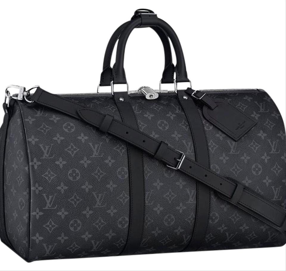 louis vuitton keepall travel bags up to 70 off at tradesy. Black Bedroom Furniture Sets. Home Design Ideas