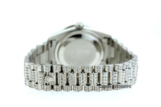 Rolex FREE SHIPPING 12CT PRESIDENTIAL 18K WHITE GOLD WITH BOD & APPRAISAL