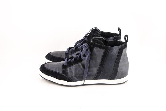 Fendi High-top Chekered Sneakers Shoes