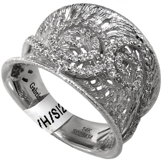ABC Jewelry H Color Si2 Clarity Ladies Fashion .98ct. Total Weight Round Diamond Ring Women's Wedding Band
