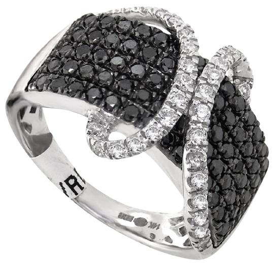 Preload https://item3.tradesy.com/images/abc-jewelry-black-and-white-diamonds-132ct-total-weight-and-round-fashion-band-ring-21557997-0-1.jpg?width=440&height=440