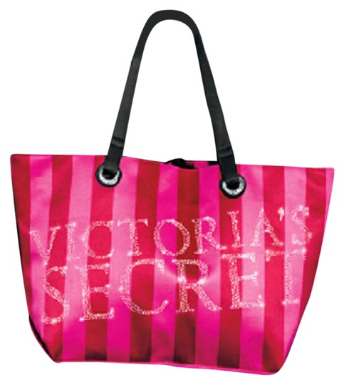 Preload https://item5.tradesy.com/images/victoria-s-secret-limited-edition-pink-red-satin-tote-21558069-0-2.jpg?width=440&height=440