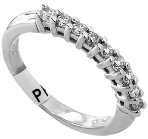 ABC Jewelry Diamond eternity band .27tcw g color si1 clarity 14k white gold
