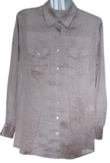 Preload https://item1.tradesy.com/images/burberry-grey-summer-shirts-blouse-size-4-s-21558190-0-2.jpg?width=400&height=650