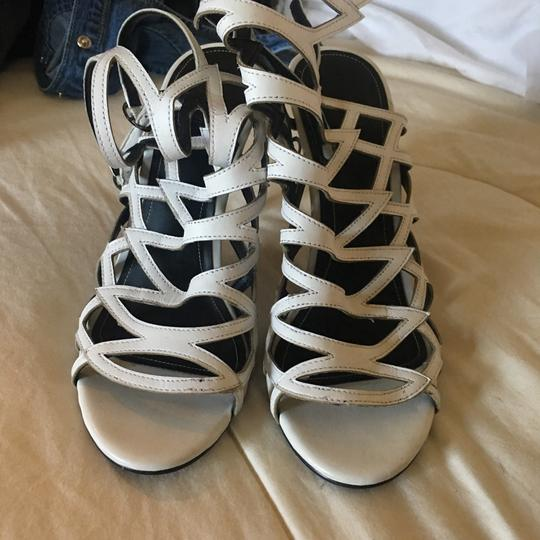 Kendall + Kylie White Leather Formal