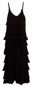 Romeo & Juliet Couture Full Length Tiered Ruffle Dress