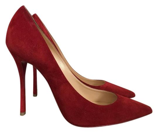 Preload https://item2.tradesy.com/images/christian-louboutin-red-decoltish-100-rouge-suede-pointed-pumps-size-us-75-regular-m-b-21558581-0-2.jpg?width=440&height=440