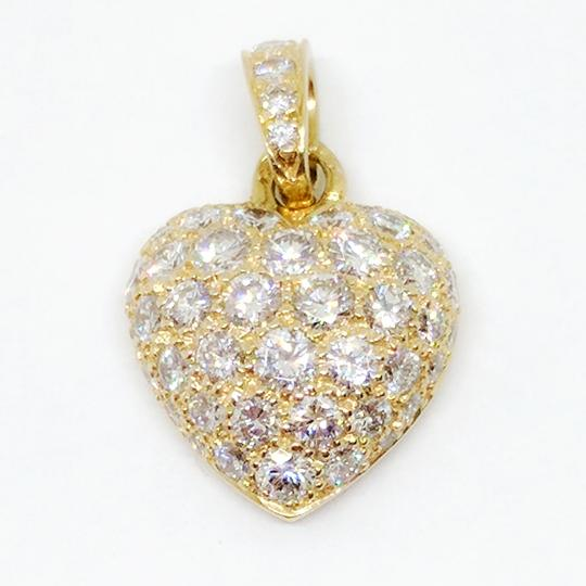Cartier Cartier Pave Diamond Heart Pendant