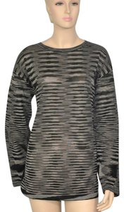 M Missoni Zigzag Silk Tunic Sweater