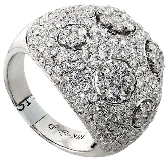 Preload https://item5.tradesy.com/images/abc-jewelry-h-color-si1-clarity-fashion-with-351ct-total-weight-round-diamonds-in-18kt-white-g-ring-21558704-0-2.jpg?width=440&height=440