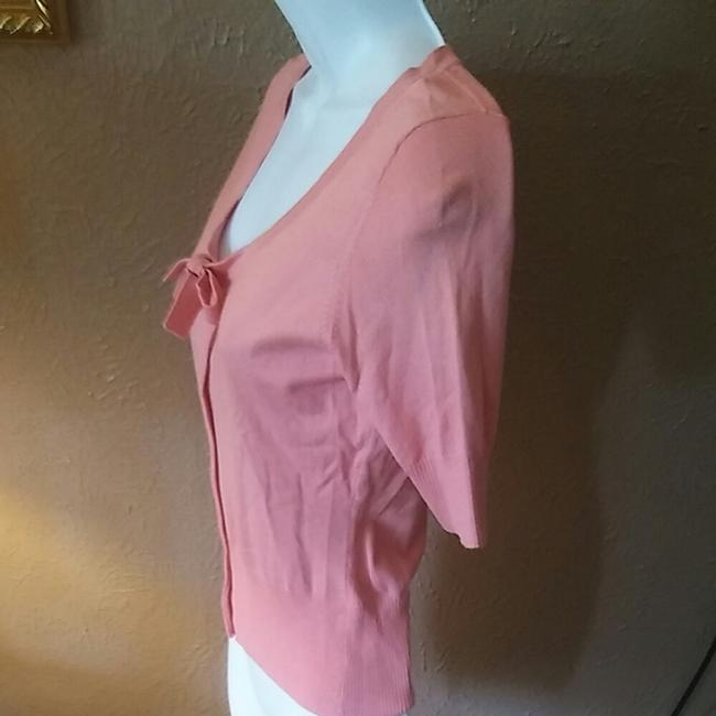 Ann Taylor LOFT Button Front Machine Washable Casual Top Pink