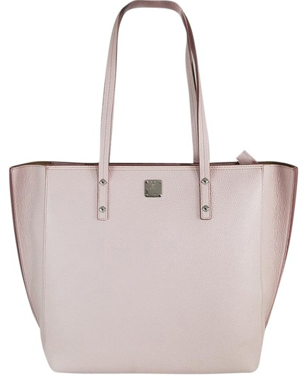 Preload https://item5.tradesy.com/images/mcm-nwts-sale-milla-med-pink-leather-tote-21558824-0-2.jpg?width=440&height=440