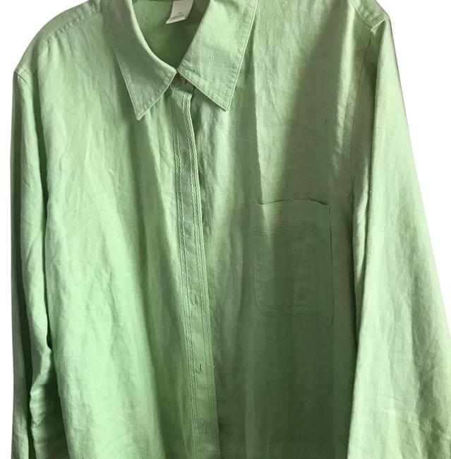 Preload https://item2.tradesy.com/images/sigrid-olsen-green-designer-linen-blouse-lime-xl-button-down-top-size-18-xl-plus-0x-21558836-0-2.jpg?width=400&height=650
