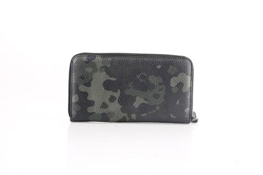 Burberry Burberry Camouflage Print Full Grain Wallet