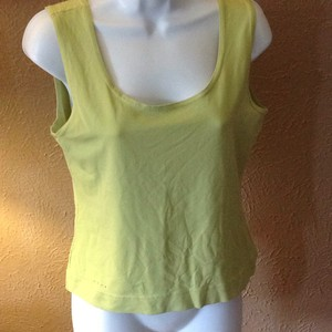 Dana Buchman T Shirt lime green