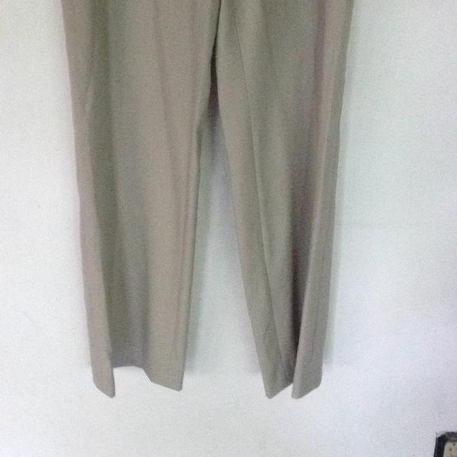 Calvin Klein beige wife leg suit pants