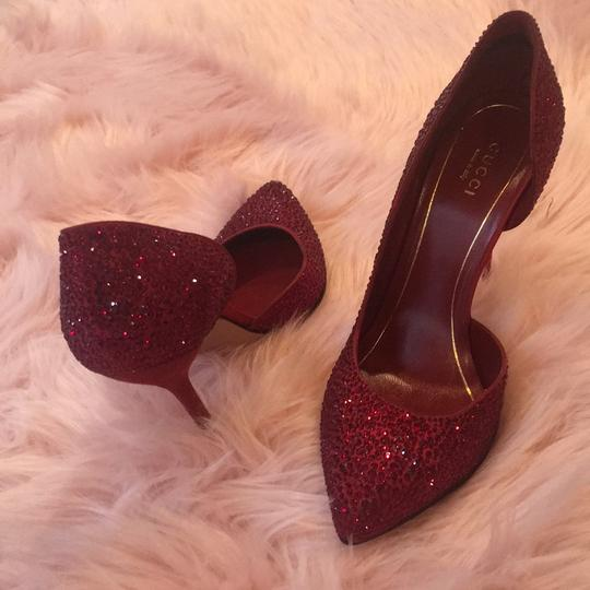 Gucci Dark Sparkle Red Formal