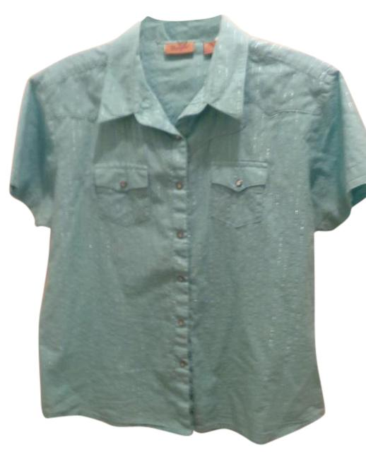 Westener Button Down Shirt turquoise