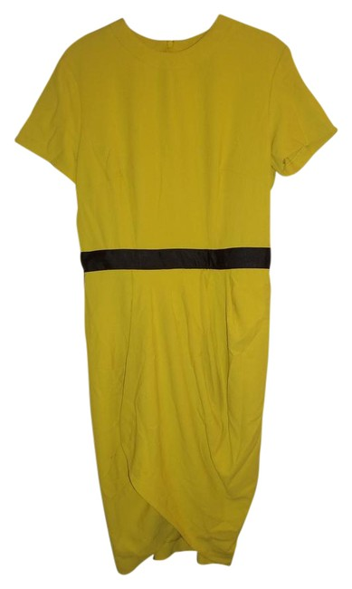 Preload https://img-static.tradesy.com/item/21559023/asos-yellow-02283469-mid-length-workoffice-dress-size-8-m-0-1-650-650.jpg