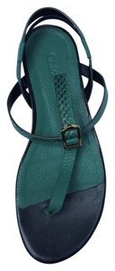Chloé Dark Green Sandals