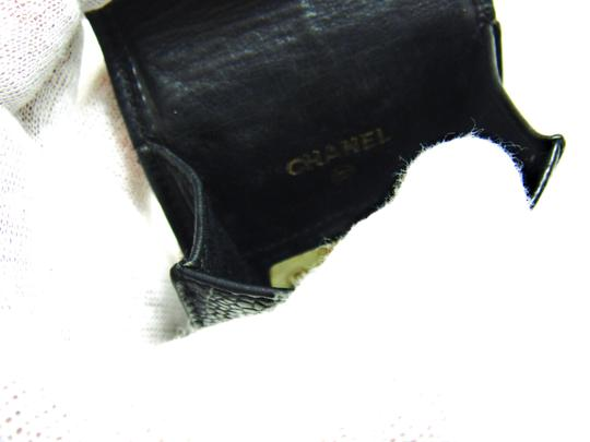 Chanel Storage Case Pouch Caviar Skin Leather