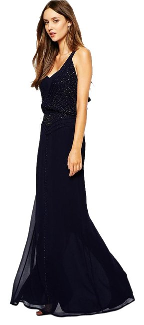 Preload https://item2.tradesy.com/images/french-connection-nocturnal-evissa-beaded-maxi-71dbf-long-formal-dress-size-6-s-21559106-0-2.jpg?width=400&height=650