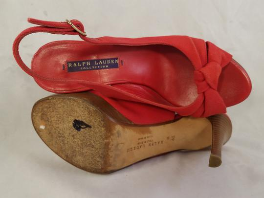 Ralph Lauren Collection In Italy red Pumps