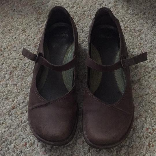 Dansko brown Mules