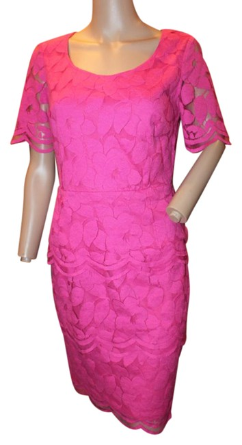 Preload https://img-static.tradesy.com/item/21559515/maggy-london-rose-pi-lace-tiered-short-workoffice-dress-size-6-s-0-1-650-650.jpg