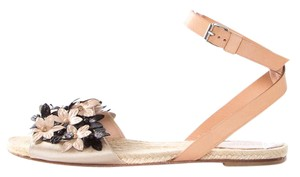Giambattista Valli Natural & Black Sandals