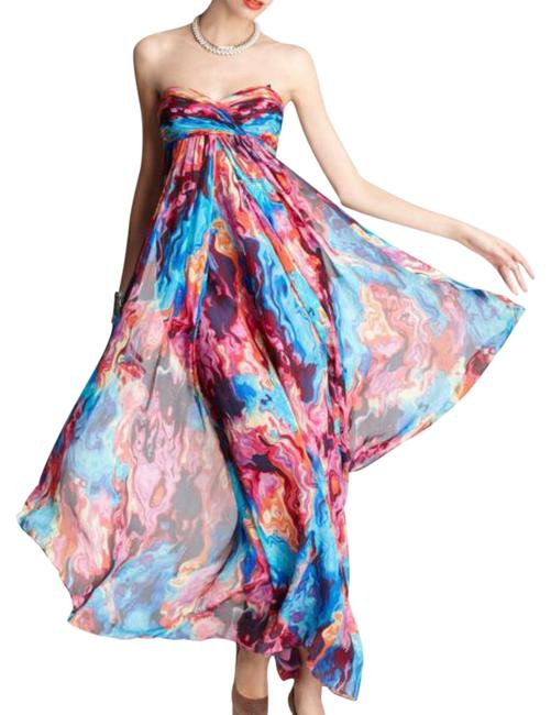 Preload https://item3.tradesy.com/images/laundry-by-shelli-segal-multicolor-sunset-strapless-empire-silk-gown-long-casual-maxi-dress-size-4-s-21559547-0-1.jpg?width=400&height=650