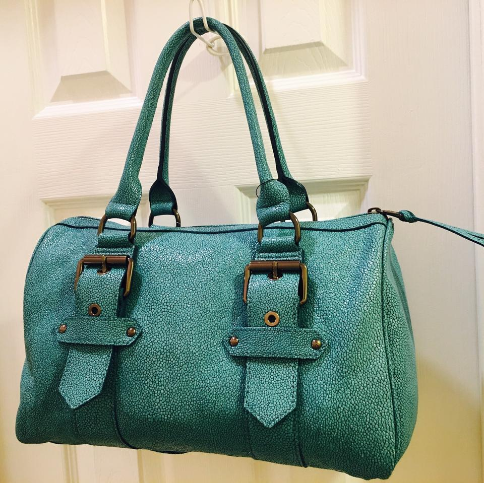 Turquoise Longchamp In Made Leather Satchel France wtrytqS1