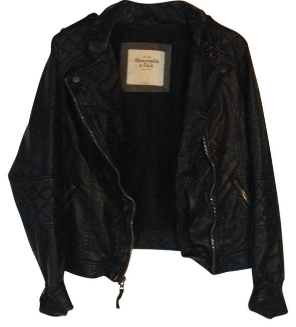 Preload https://item4.tradesy.com/images/abercrombie-and-fitch-black-faux-quilted-leather-jacket-size-12-l-21559598-0-2.jpg?width=400&height=650