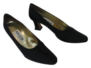 Pancaldi Shoe Size 6aa Narrow BLACK Pumps
