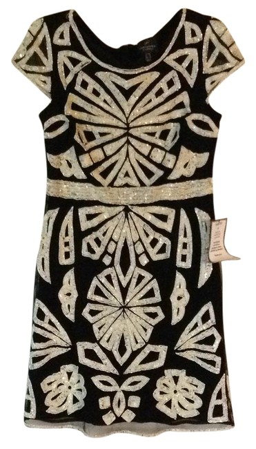 Preload https://item1.tradesy.com/images/adrianna-papell-black-beaded-embroidered-overlay-mid-length-formal-dress-size-8-m-21559745-0-2.jpg?width=400&height=650