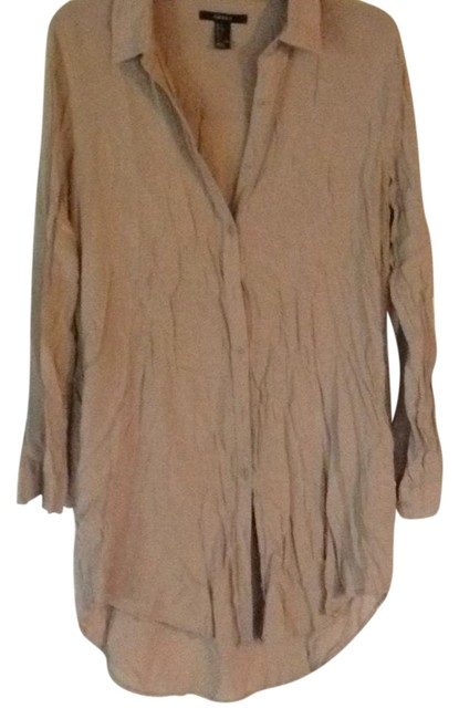 Preload https://item2.tradesy.com/images/forever-21-beige-button-down-short-casual-dress-size-12-l-21559771-0-1.jpg?width=400&height=650
