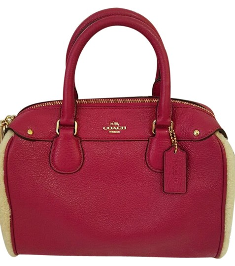 Preload https://item3.tradesy.com/images/coach-bennett-36689-mini-shearling-cranberrynatural-pebble-leather-satchel-21559772-0-1.jpg?width=440&height=440