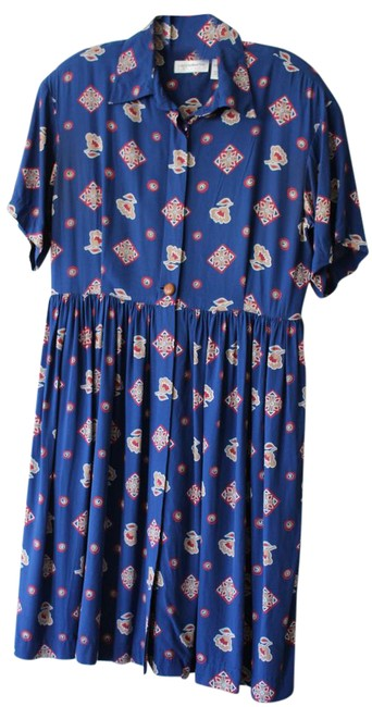 Preload https://item3.tradesy.com/images/liz-claiborne-blue-geometric-floral-vintage-fits-empire-waist-buttons-mid-length-workoffice-dress-si-21559897-0-2.jpg?width=400&height=650