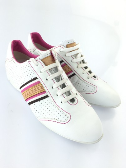 Louis Vuitton White/Pink Athletic